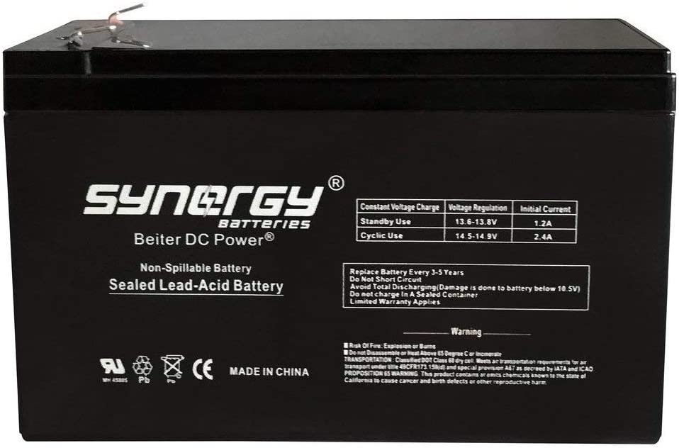 Yuasa NPW45-12 45W//Cell 10min 12V 9Ah Rechargeable Replacement Battery Beiter DC Power
