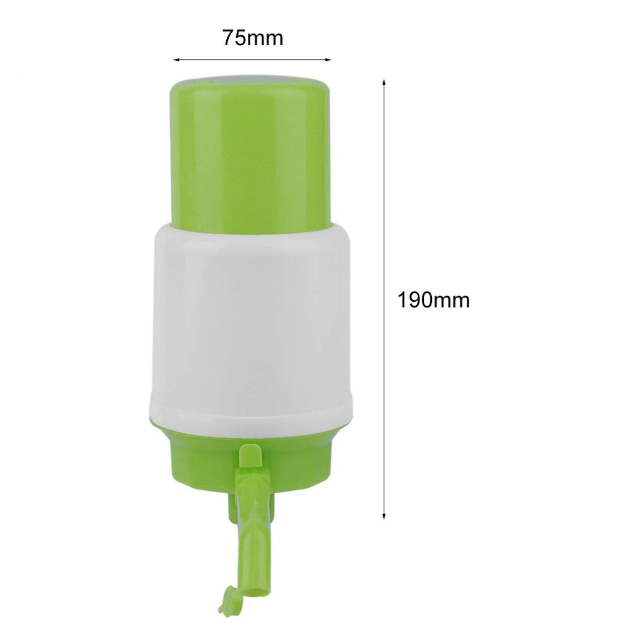 Tellaboull Per Gallon Bottled Potabile Pompa per Acqua Hand Press Pompa Manuale Dispenser Extensions Rimovibile Tube Pump Faucet Tool