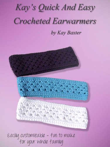 Crochet Pattern Ear Warmer Headband Matching Fingerless Gloves