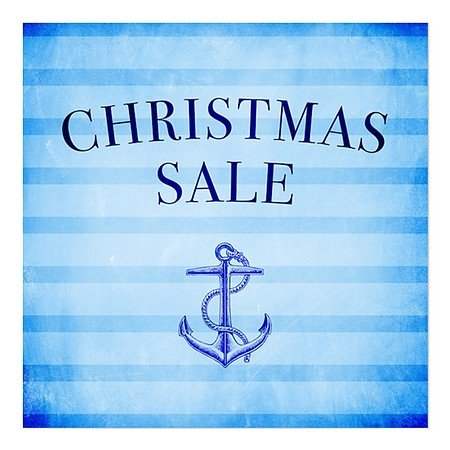 cgsignlab christmas sale nautical stripes - Amazon Christmas Sale