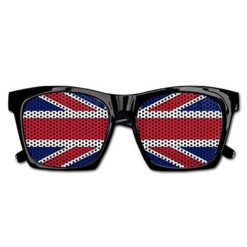 Elephant AN Themed Novelty British Flag Creative Visual Mesh Sunglasses Fun Props Party Favors Gift - Wacky Uk Sunglasses