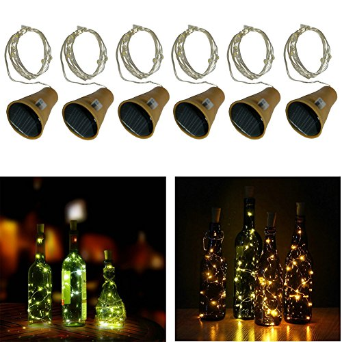 10-LED-Bulbs-Cork-Lights-Solar-Powered-6-pcs-39-Inch-Long-String-Wine-Bottle-Cork-Fairy-Lights-for-Bottle-DIY-Table-Decorations-Christmas-Wedding-Dancing-Halloween-Party-Festival-Dcor