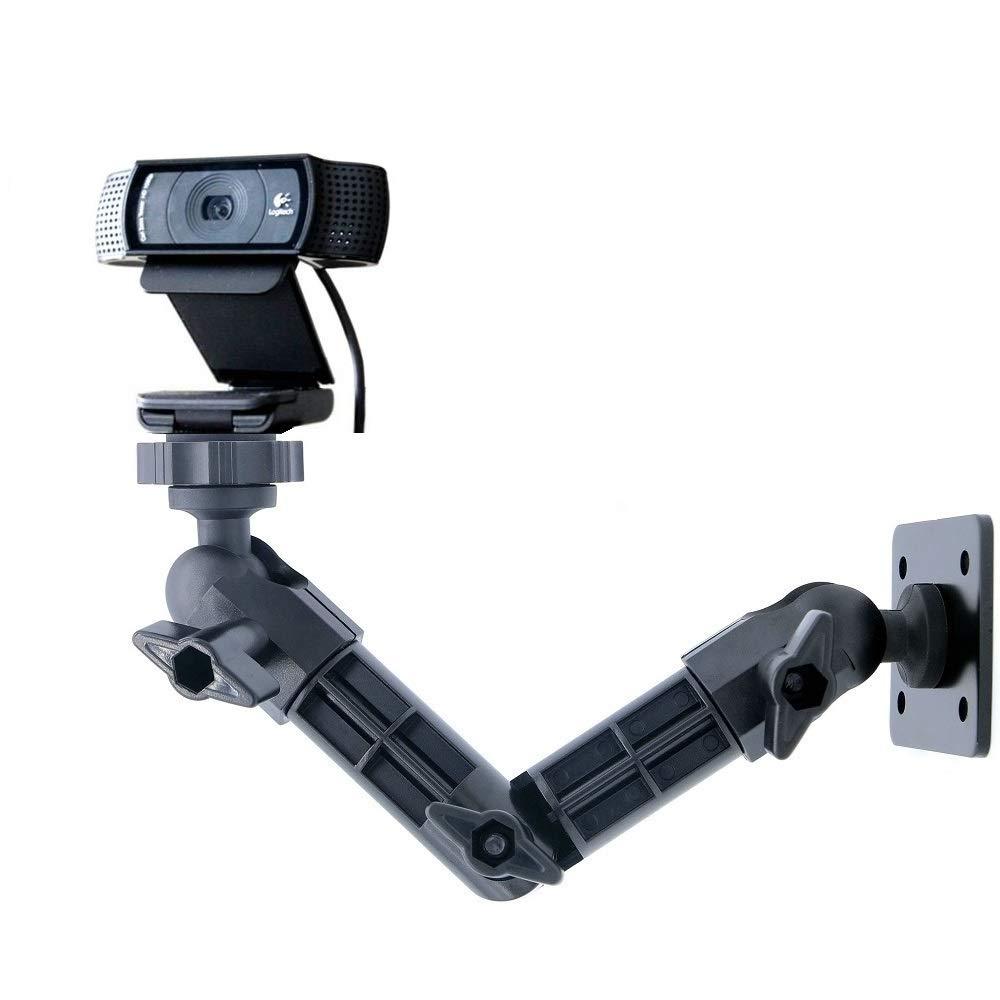 Logitech C920 Mount, Wall Mount Webcam for Logitech C920 HD Pro Webcam - Acetaken