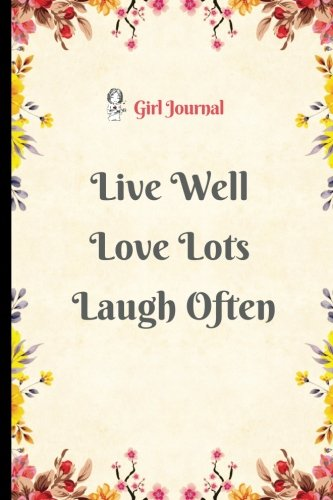 download live well journal notebook for girl 6 x9 blank notebook