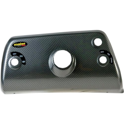 Maier Driver Side Dash Cover Carbon for Yamaha Rhino 04-09 (Maier Covers Side)