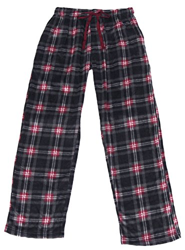 Joe Boxer Clothes (Joe Boxer Mens Microfleece Holiday Sleep Pant (M, Burgundy))
