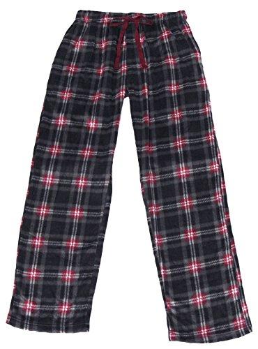 Joe Boxer Mens Microfleece Holiday Sleep Pant (S, Burgundy) (Pants Joe Boxer)
