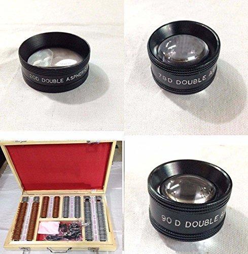 Trial Lens Set of 232 + 20D+78D+90D Lens Best Quality Original Item of Brand BEXCO DHL Shipping.