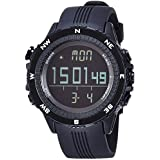 [LAD WEATHER] German Sensor Digital Compass Altimeter/Barometer/Weather Forecast/Multi function/Outdoor Climbing/running/walking Sport Watch