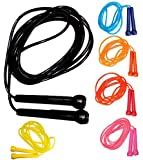 Plastic Skipping Rope Jump Jumping Speed Rope Exercise Fitness Rope 9-ft Gym Fitness Accessory
