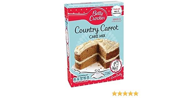 Betty Crocker - Country Carrot Cake Mix 425 g: Amazon.es: Alimentación y bebidas