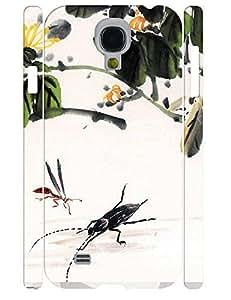Creative Cute Ink Pattern Anti Shock Phone Slim Skin Case for Samsung Galaxy S4 I9500 WANGJING JINDA