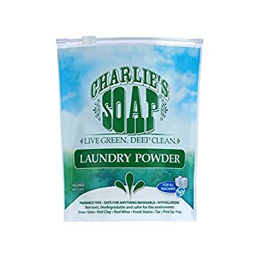 Charlie's Soap Eco Friendly Laundry Powder 2.64 lbs 100 loads