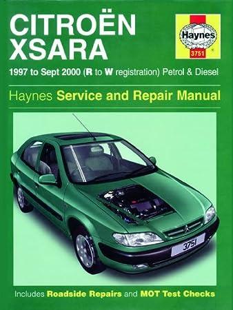 citroen xsara repair manual haynes manual service manual workshop rh amazon co uk Citroen Xsara Parduodu Dalimis Citroen Xsara VTS