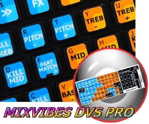 NEW MIXVIBES DVS PRO KEYBOARD STICKER