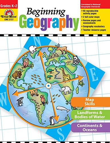 Evan-Moor - 3727 Beginning Geography Book