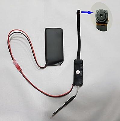Cámara espía V55 con antena, WiFi 3G, resolución media de 640 x 480 píxeles y sensor de movimiento