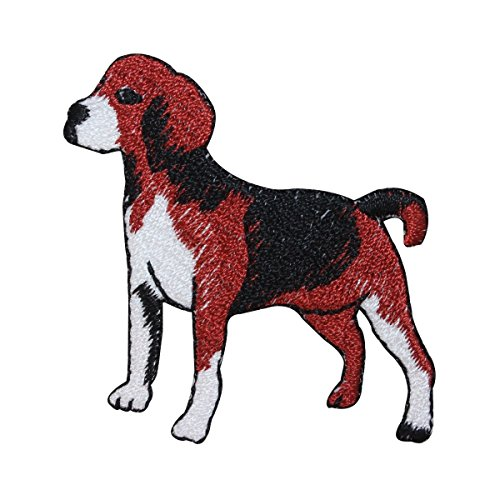 ID 2773 Beagle Dog Patch Hound Puppy Breed Hunting Embroidered Iron On Applique