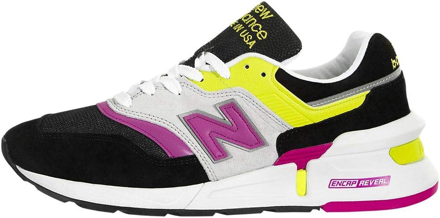 chaussure new balance femme jaune fluo