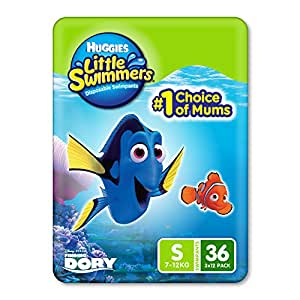 Huggies Little Swimmers, Small (7-12KG), 36 Count