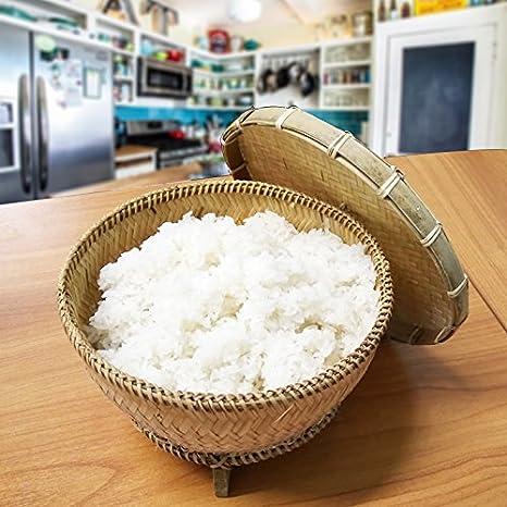Amazon.com: Vaporera de alimentos de estilo de bambú ...