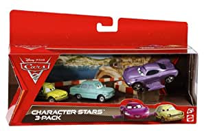 Cars 2 V5089 - Pack 3 Coches Personajes Cars 2 (Mattel)