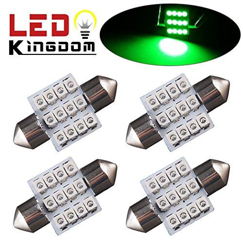 100 Light Led Green Dome Lights - 9