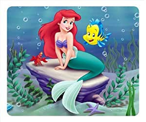The Little Mermaid Mousepad, Customized Oblong Mouse Pad - popcustom