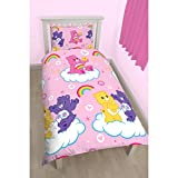 Care Bears Childrens Girls Official Share Reversible Single Duvet (Twin) (Pink)