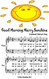 Good Morning Merry Sunshine Easiest Piano Sheet Music Junior Edition
