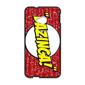 Bazinga game design Cell Phone Case for HTC One M7