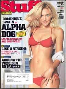 DOMINIQUE SWAIN STUFF MAGAZINE FEBRUARY 2007!: STUFF MAGAZINE: Amazon