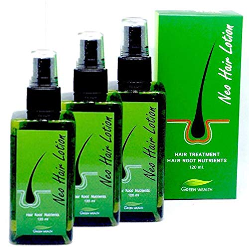 (Neo Hair Lotion 120ml Hair Treatment Hair Root nutrients (120Ml x 3Bottle) by Poj Shop)