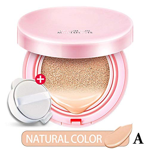 Binglinghua Air Cushion BB Cream Concealer Makeup Korean Cosmetics Bare Make up Foundation Sunscreen Moisturizing (Nature)