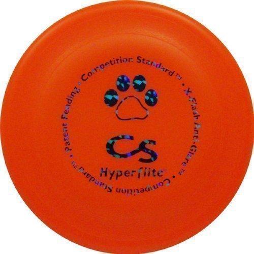 Hundefrisbee Hyperflite K10 Competition Standard - ORANGE X-FLASH
