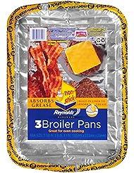 "Reynolds Bakeware Disposable Broiler Pan - 11x8"", 3 Count"