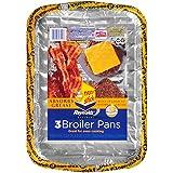 Reynolds Bakeware Disposable Broiler Pan - 11x8'', 3Count