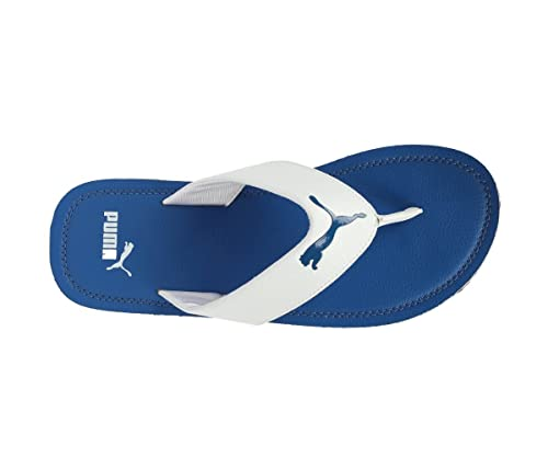 b304f1b083fb Puma Men s Flash Cat Royal Blue White Flip Flops Thong Sandals-12 UK India