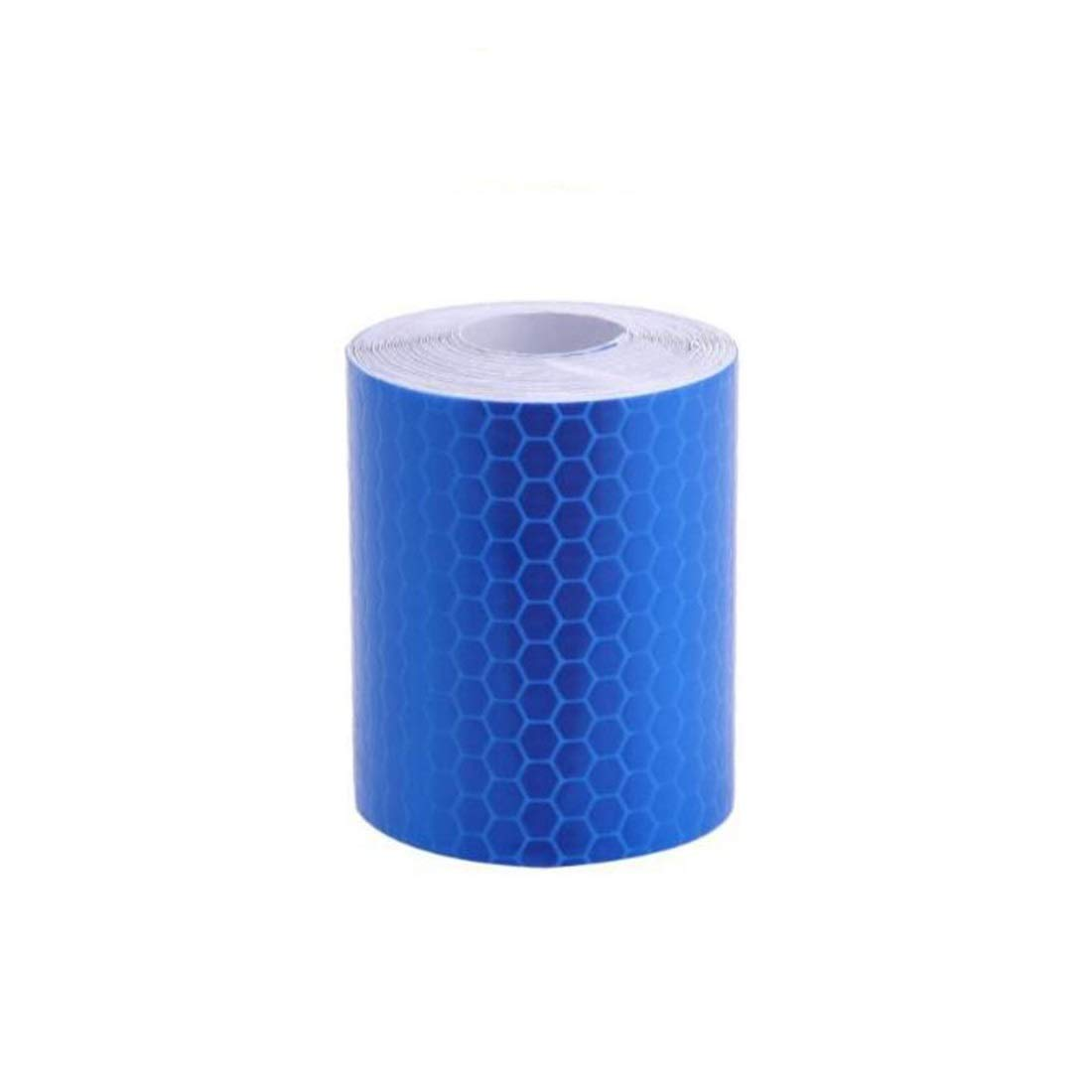 SYGA 3 Meter Reflective Warning Tape Sticker, High Visibility Safety Honeycomb Conspicuity Tapes(Blue) product image