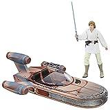 Star Wars The Black Series Luke Skywalker Landspeeder & Figure