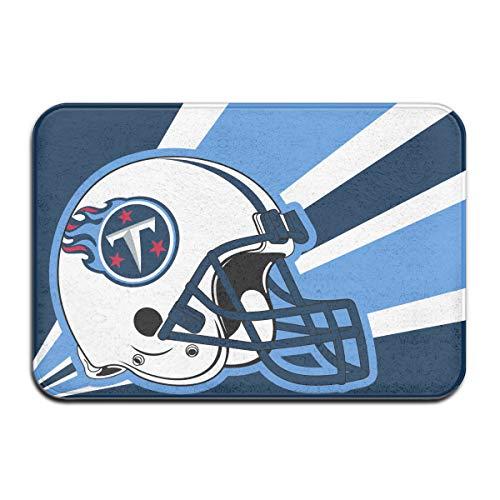 - Marrytiny Custom Colorful Doormat American Football Team Tennessee Titans Indoor Non Slip Floor Doormat Mats Suitable Bathroom Bedroom Entrance Toilet 15.7 X 23.6 Inches