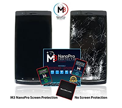 M3 NanoPro - Liquid Nano Screen Protection for Smartphones - NO MORE CRACKED SCREEN OR SCRATCHES - BACTERIA RESISTENT - Make Your Screen 1000% STRONGER