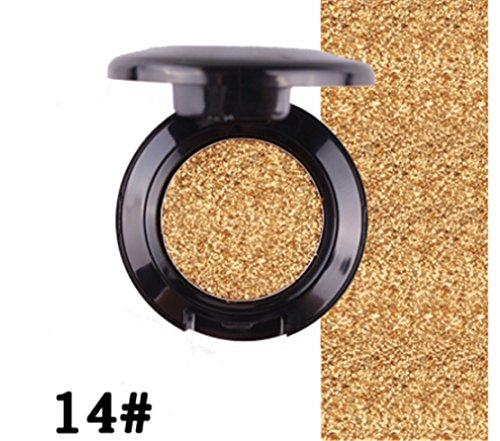 Tmrow Professional Single Waterproof Makeup Glitter Long Lasting Eyeshadow (Moisturizing Shadow Palette)