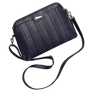 Las mujeres bolsa de hombro, Mosunx (TM) mujeres bolso de mano cuero Crossbody Messenger Teléfono Moneda Bolso