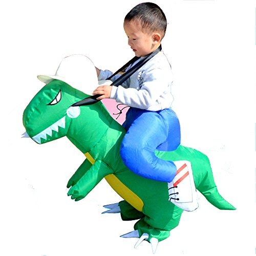 Centaur Costume Kids (Inflatable Dinosaur T-REX Adult Fancy Dress Costume (Kid size(One size fit most))))