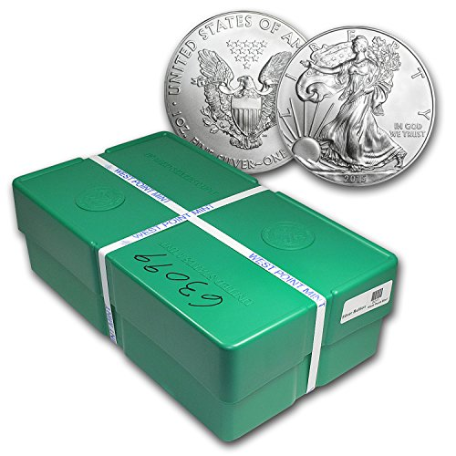 2015 500-Coin Silver American Eagle Monster Box (Sealed) 1 OZ Brilliant Uncirculated 500 Coin Monster Box