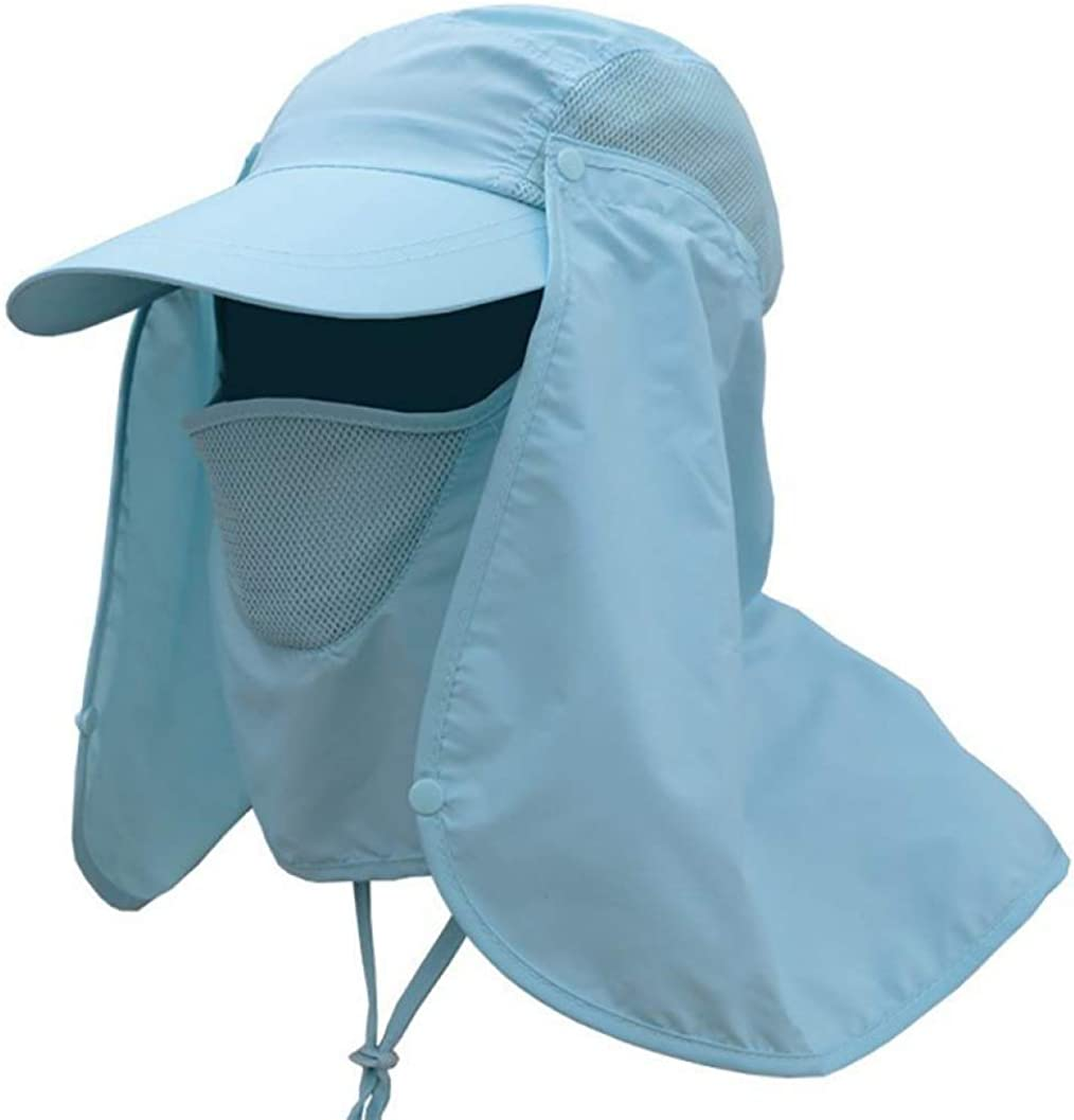 Women Sun Hats Summer Protective Chapeu hat Feminino Neck Cover Ear Flap UV Protection Men Women Sun Caps