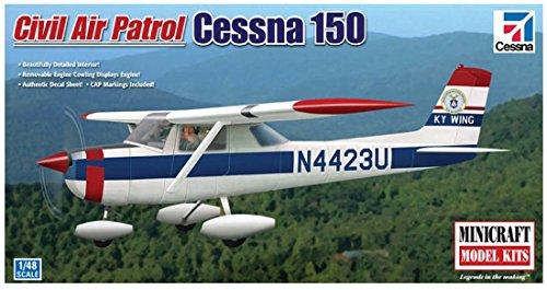 Minicraft Cessna 150 Civil Air Patrol, 1/48 Scale