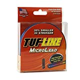 Tuf Line Microlead 200 yd Fishing Line, Metered, 18 lb For Sale