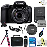 Canon PowerShot SX60 HS Digital Camera + Pixi-Basic Accessory Kit - International Version